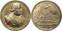 Silbermedaille 1717 Nürnberg-Stadt  Felder...