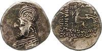 Drachme 90 - 80  v. Parther Orodes I. 90 -...