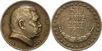 Silbermedaille 1927 Sachsen-Dresden, Stadt...