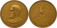 Bronzemedaille 1933 Drittes Reich  Mattier...