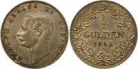 1/2 Gulden 1856 Nassau Adolph 1839-1866. F...