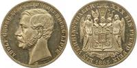Taler 1865  B Schaumburg-Lippe Adolf Georg...