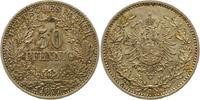 50 Pfennig 1877  B Kleinmünzen  Schöne Pat...