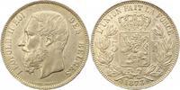 5 Francs 1873 Belgien-Königreich Leopold I...