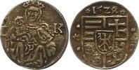 Denar 1524  LK Ungarn Ludwig II. 1516-1526...