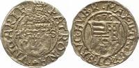 Denar 1575  HS Ungarn Maximilian II. 1564-...