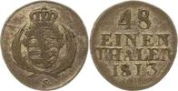1/48 Taler 1813  H Sachsen-Albertinische L...