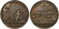 Silbermedaille 1756 Hamburg, Stadt  Schöne...