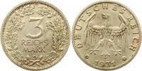3 Mark 1931  D Weimarer Republik  Sehr schön +  295,00 EUR free shipping