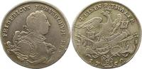 1/4 Taler 1752  B Brandenburg-Preußen Frie...