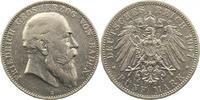5 Mark 1907  G Baden Friedrich I. 1856-190...