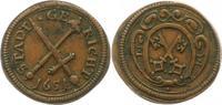 Kupfermarke 1651 Regensburg-Stadt Marken u...