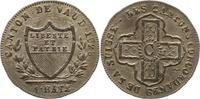 Batzen (10 Rappen) 1828 Schweiz-Waadt, Kan...