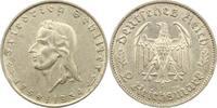 2 Mark Schiller 1934  F Drittes Reich  Win...