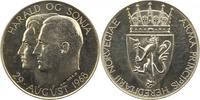 Silbermedaille 1968 Norwegen Olav V. 1957-...