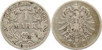 Mark 1883  E Kleinmünzen  Schön