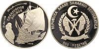 500 Pesetas 1990 Demokratische Arabische R...