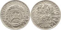 200 Kronen 2001 Tschechien Republik. Präge...