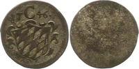 Einseitiger Pfennig 1746 Bayern Maximilian...