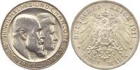 3 Mark 1911 Württemberg Wilhelm II. 1891-1...