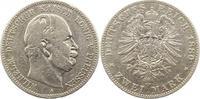 2 Mark 1880  A Preußen Wilhelm I. 1861-188...