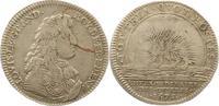 Silbermedaille 1675 Frankreich Ludwig XIV....