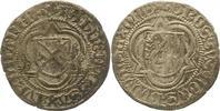 1/2 Schwertgroschen 1492 Sachsen-Markgrafs...