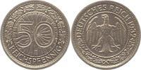 50 Reichspfennig 1932  E Weimarer Republik...