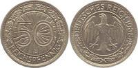 50 Reichspfennig 1938  E Weimarer Republik...