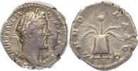 Denar 138-161 n.  Kaiserzeit Antonius Pius...