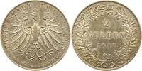 Doppelgulden 1846 Frankfurt-Stadt  Sehr sc...