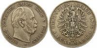 5 Mark 1876  C Preußen Wilhelm I. 1861-188...