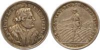 Silbermedaille 1717 Nürnberg-Stadt  Fast v...