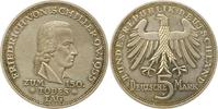 5 Mark 1955  F Münzen der Bundesrepublik D...