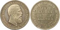 Silbermedaille 1888 Brandenburg-Preußen Fr...