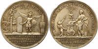 Silbermedaille 1755 Hamburg, Stadt  Sehr s...
