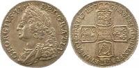 Shilling 1758 Großbritannien George II. 17...