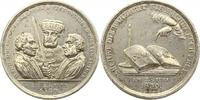 Sachsen. Zinnmedaille mit Kupferstift 1830...