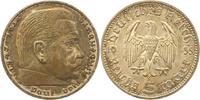 5 Mark 1935  F Drittes Reich  Fast Stempelglanz  65,00 EUR  +  4,00 EUR shipping