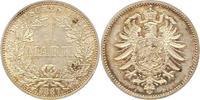 Mark 1887  A Kleinmünzen  Vorzüglich - Ste...