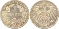 Mark 1913  F Kleinmünzen  Fast Stempelglanz