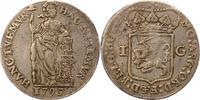 Gulden 1795 Niederlande-Holland, Provinz  ...