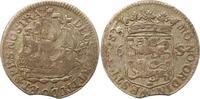 6 Stüber 1738 Niederlande-Westfriesland, P...