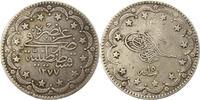 20 Kurush 1870 Türkei Abdul Aziz 1861-1876...
