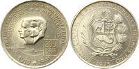 200 Soles 1975 Peru  Vorzüglich +