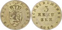 3 Kreuzuer 1819 Hessen-Darmstadt Ludwig I. 1806-1830. Sehr schön  38,00 EUR  +  4,00 EUR shipping