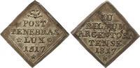 Silberabschlag von den Stempeln der Duka 1...