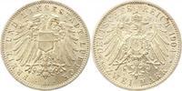 2 Mark 1904  A Lübeck  Prachtexemplar. Fast Stempelglanz  235,00 EUR  +  4,00 EUR shipping