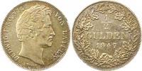 1/2 Gulden 1847 Bayern Ludwig I. 1825-1848...