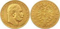 10 Mark Gold 1879  A Preußen Wilhelm I. 18...